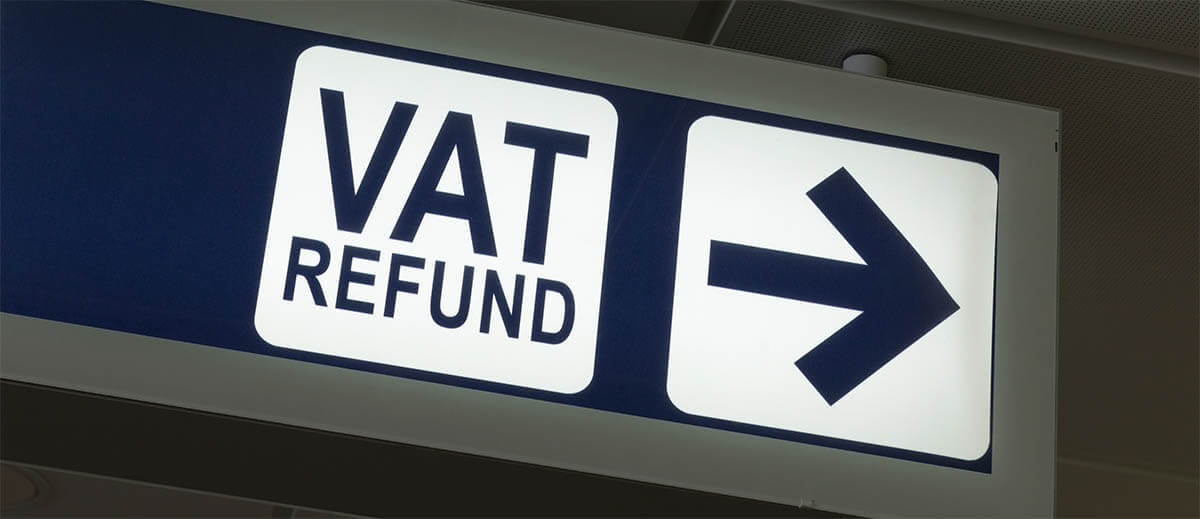 VAT rebate with receipts